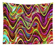 Janca Abstract Wave Panel #5at Tapestry