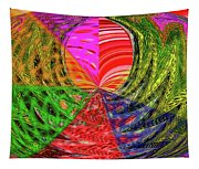Janca Colors Panel Abstract # 5212 Wtw7 Tapestry