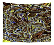 Janca Oval Abstract 4917 W3a Tapestry
