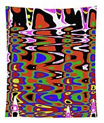 Jancart Drawing Abstract #8455pcws Tapestry