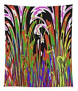 Jancart Drawing Abstract #8455wtpc Tapestry