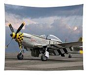 Janie P-51 Tapestry