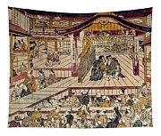 Japan: Kabuki Theater Tapestry