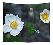 Japanaese Anemone Tapestry
