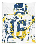 Jared Goff Los Angeles Rams Pixel Art 2 Tapestry