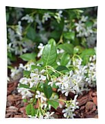 Jasmine In Bloom Tapestry
