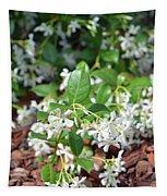Jasmine In Bloom Tapestry