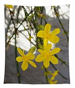 Jasmine On The Wall Tapestry