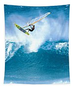 Jason Flies Over A Wave Tapestry