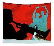 Jazz Goose Tapestry