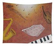 Jazz Music Tapestry