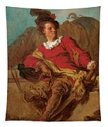 Jean-claude Richard Abbe Of Saint-non Tapestry