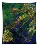 Jelly Fish  Diving The Reef Series 1 Tapestry
