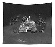 Jerusalem Israel In Monochrome Tapestry