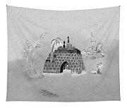 Jerusalem Israel In Negative Tapestry