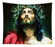 Jesus Of Nazareth Tapestry