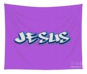 Jesus Tee Tapestry