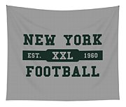 Jets Retro Shirt Tapestry