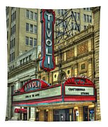 Jewel Of The South Tivoli Chattanooga Historic Theater Art Tapestry