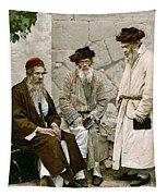 Jews In Jerusalem, C1900 Tapestry
