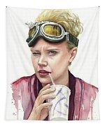 Jillian Holtzmann Ghostbusters Portrait Tapestry