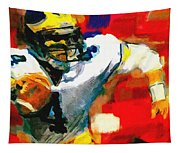 Jim Harbaugh  I Guarantee Tapestry