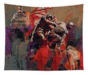 Jima Memorial Washington Dc Tapestry