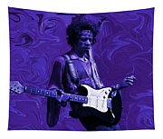 Jimi Hendrix Purple Haze Tapestry