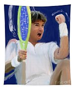 Jimmy Connors Tapestry