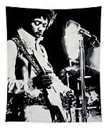 Jimmy Hendrix Purple Haze Tapestry