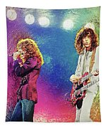Jimmy Page - Robert Plant Tapestry
