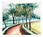 Jogging Track Tapestry