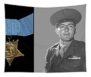 John Basilone And The Medal Of Honor Tapestry