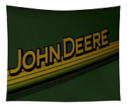 John Deere Signage Decal Tapestry
