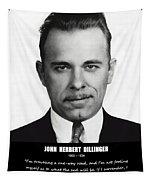 John Dillinger -- Public Enemy No. 1 Tapestry
