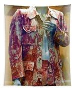 John Entwistle's Tie Died Suede Suit Tapestry