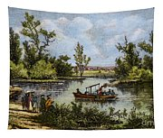 John Fitch Steamboat, 1796 Tapestry