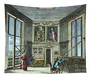 John Flamsteed, C. 1700 Tapestry