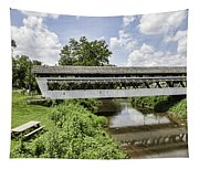 Johnston Covered Bridge Tapestry