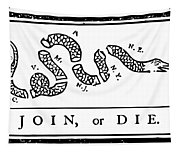 Join Or Die Tapestry