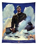 Join The Army Air Forces Tapestry