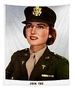 Join The Army Nurse Corps Tapestry