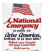 Arise America Before It Is Too Late - Join The Navy Tapestry