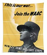 Join The Waac - Women's Army Auxiliary Corps Tapestry