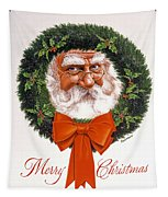Jolly Old Saint Nick Tapestry