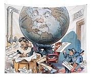 Joseph Pulitzer Cartoon Tapestry