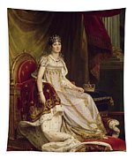 Josephine In Coronation Costume Tapestry