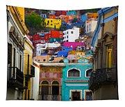 Juegos In Guanajuato Tapestry