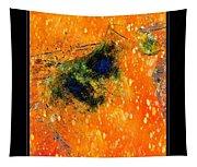 Jug In Black And Orange Tapestry