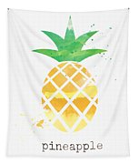 Juicy Pineapple Tapestry by Linda Woods